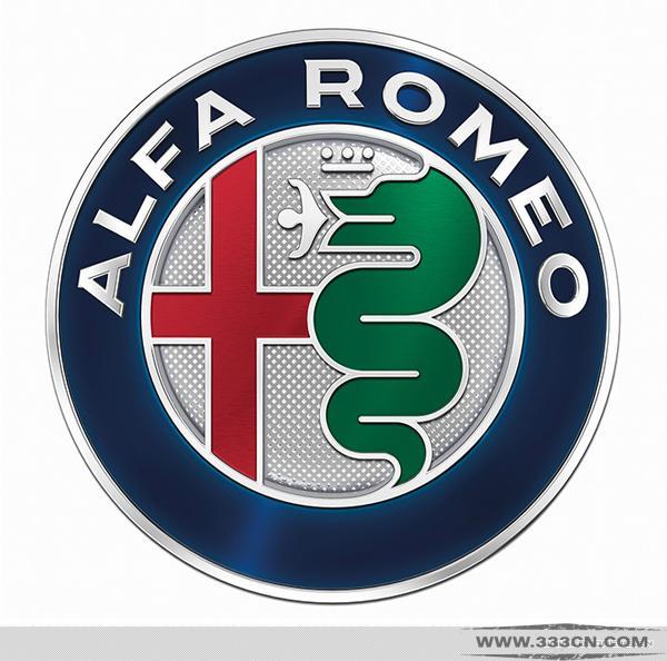 意大利 汽车品牌 阿尔法・罗密欧 更新 标识