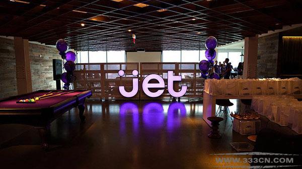 美国 会员制网络 零售商 Jet.com 形象标识