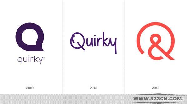 创意产品 社区 电商网站 Quirky 新LOGO