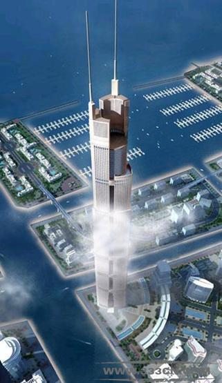 芝加哥 艾德里安-史密斯+戈登-吉尔 迪拜 2020年大厦