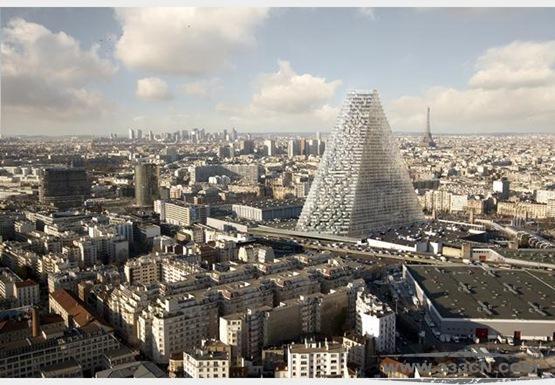 赫尔佐格 德梅隆 巴黎高楼项目 摩天楼 巴黎市政当局