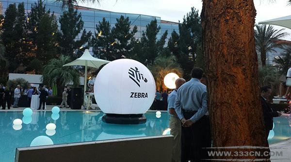 美国 斑马技术公司 Zebra 新LOGO 标识