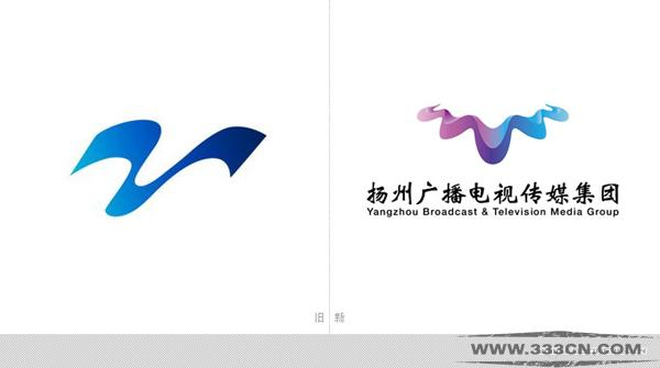 扬州 广电传媒集团 新台标 logo 创意