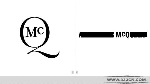 时装品牌 麦蔻 McQ 新LOGO Alexander-McQueen