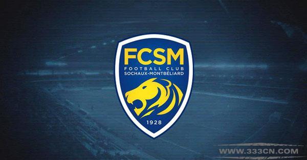 法国 索肖足球俱乐部 FCSM 新LOGO 标识设计