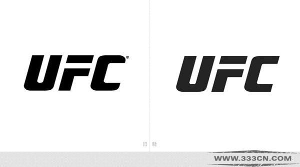 终极格斗 锦标赛 UFC 新LOGO 标识设计