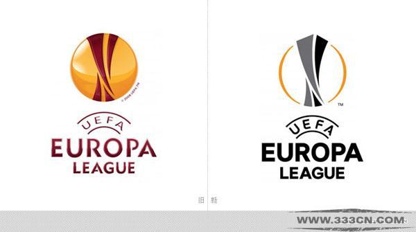 欧足联 欧洲联赛 新LOGO 标识设计 创意