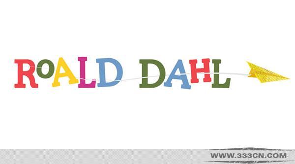 罗尔德・达尔 Roald Dahl 文学遗产 形象 标识