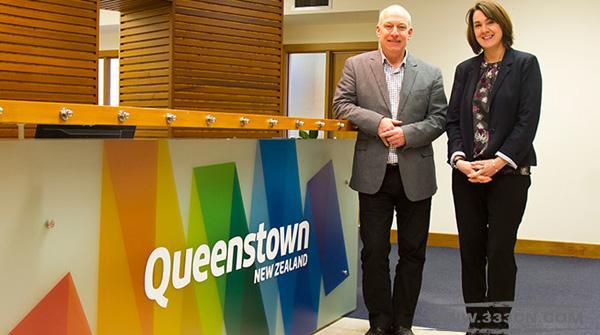 新西兰 皇后镇 旅游标识 Queenstown logo