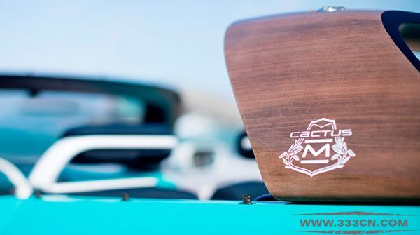 雪铁龙 Cactus M 概念车 搭配全新 Logo亮相