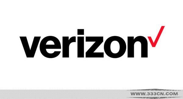 美国无线通信公司 威瑞森 Verizion  新LOGO