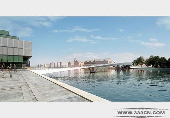 威尔金森-艾尔 哥本哈根 桥梁项目 丹麦 Christianshavn