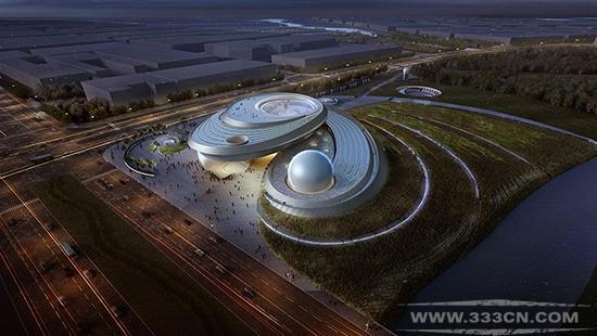 世界最大 上海天文馆 2018年 临港 帕兰子午仪