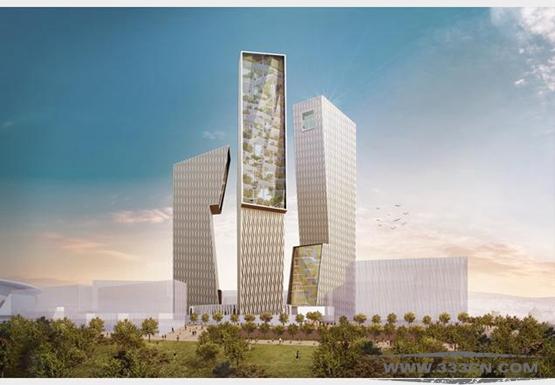 丹尼尔-里伯斯金 屋顶花园 罗马市 商业区 Daniel-Libeskind