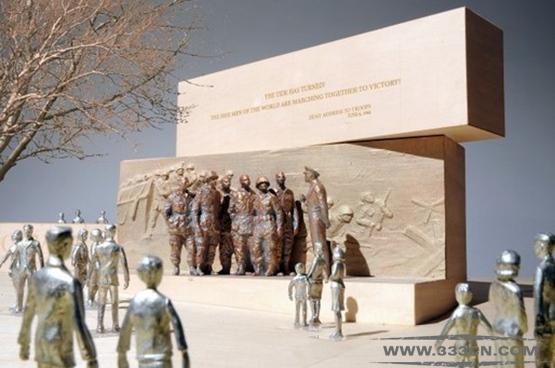 弗兰克-盖里 Frank-Gehry 艾森豪威尔 纪念碑 设计方案