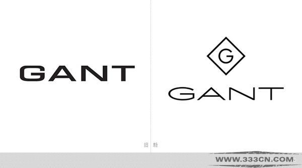 甘特 GANT 品牌 新LOGO 博纳德・甘特