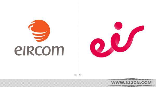 爱尔兰 电信巨头 Eircom更名 Eir 新LOGO