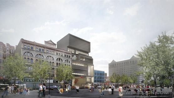 大卫・阿德迦耶 设计 哈莱姆 画室博物馆 设计方案