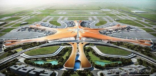 新机场 海星 设计方案 北京新机场 南航