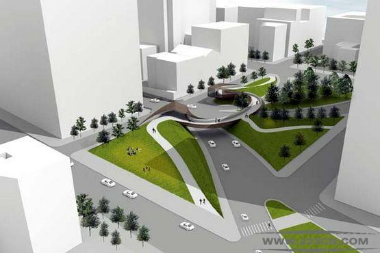 城市化 马修斯-尼尔森 景观建筑 城市设计项目 创意