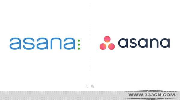 任务管理应用 Asana 改版 新LOGO 创意