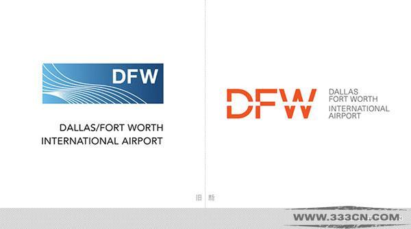 达拉斯-沃思堡 国际机场 DFW LOGO 创意