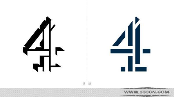 英国 第四电视台Channel4 新LOGO 创意
