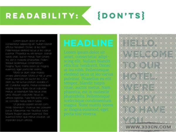 20个 设计新手 常见 排版设计 误区
