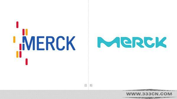 德国 默克集团 Merck  新LOGO 创意