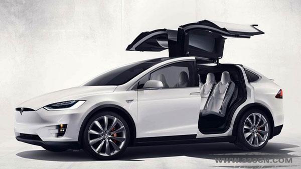 鹰翼车门 ModelX 特斯拉 未来主义 电动汽车