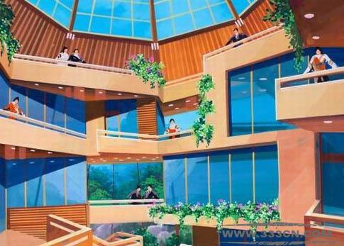 高丽旅游项目 金正恩 生活景观 设计样图 威尼斯建筑双年展参展