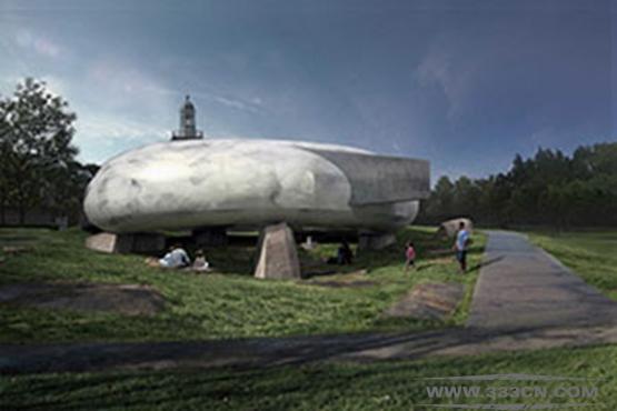 智利建筑 蛇形画廊 佩佐-冯-埃尔里奇豪森 皇家美术学院 空间感应