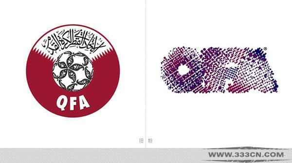 卡塔尔足协 QFA 宣布 新LOGO 创意
