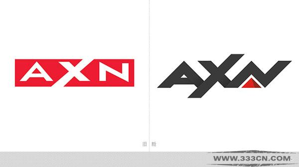 索尼 亚州电视网 AXN 更换 新标识