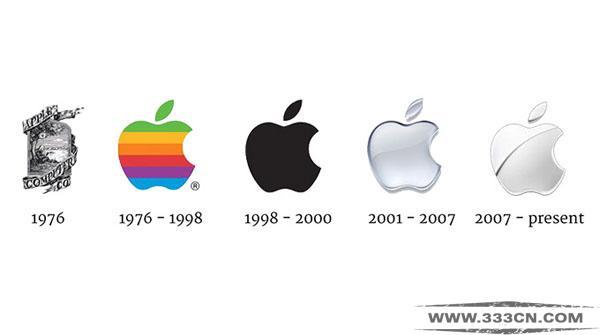 苹果 LOGO 品牌 商标设计 商标