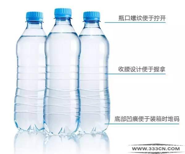 矿泉水瓶身 设计 创意 工业设计 极简设计理念