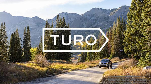 P2P 租车平台 RelayRides 更名 Turo 新LOGO