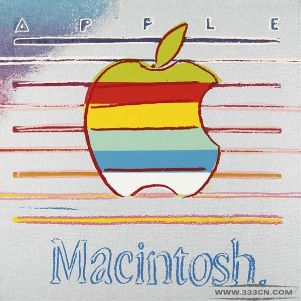 安迪・沃霍尔 苹果 Macintosh 油画