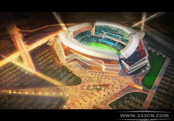 Populous 公布 圣迭戈 体育场 设计方案
