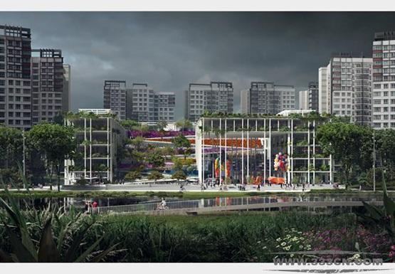 思锐建筑事务所 英国 新加坡 国际竞争 设计大赛