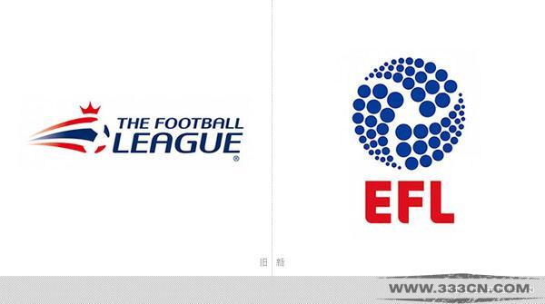 英格兰 足球联赛 EFL 新LOGO 设计大赛