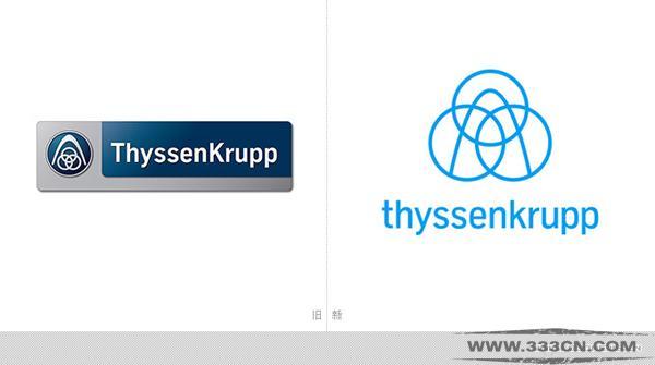 蒂森克虏伯 Thyssen-Krupp 品牌形象 logo 设计大赛