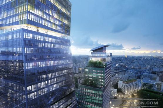 让・努维尔 巴黎 大楼项目 左岸地区 法国建筑