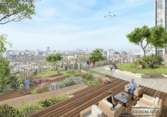 象堡 伦敦 SOM建筑 美国 文化中心项目