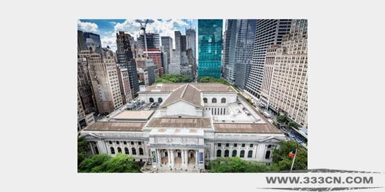 荷兰 梅卡诺建筑 纽约公共图书馆 设计方案 中曼哈顿楼