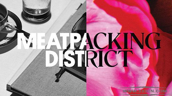 纽约肉库区 Meatpacking 全新形象 标识 设计大赛