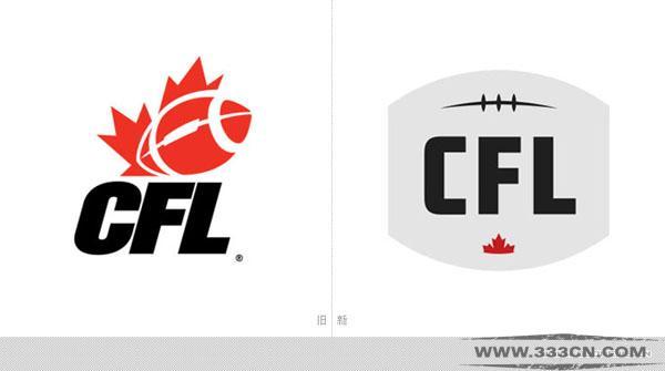 加拿大 加式足球 联盟 CFL 新LOGO