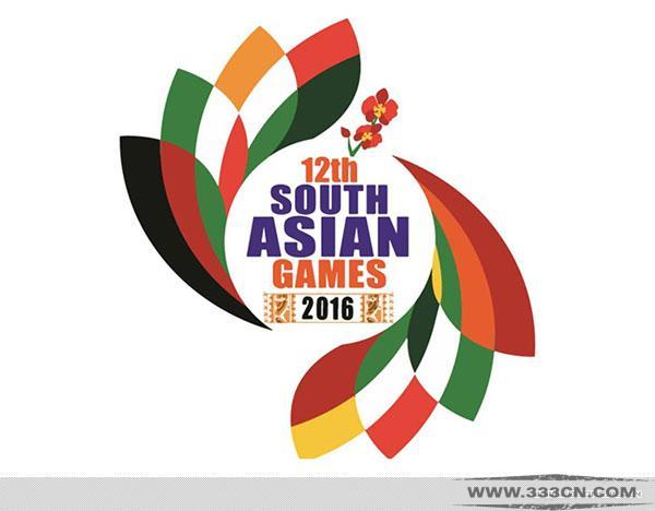 2016 第12届 南亚运动会 会徽 吉祥物