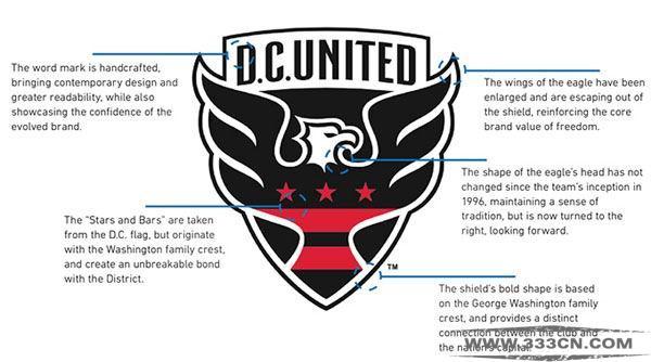 华盛顿特区 联俱乐部 新LOGO 设计大赛 设计征集