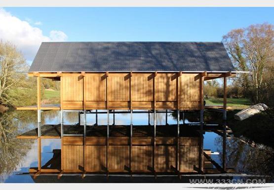 尼尔-麦克劳克林 英国皇家建筑师协会 史蒂芬-劳伦斯奖 钓鱼小屋 汉普郡